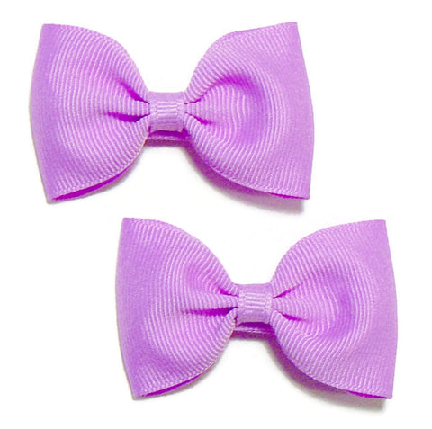 grosgrain hair bow set