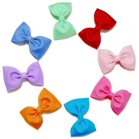 grosgrain hair bow set (8 bows)