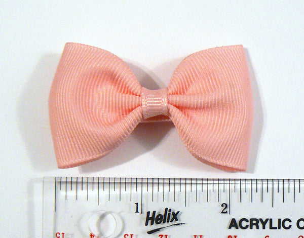 16 Grosgrain Hair Bows (without knot) - A15 - SMALL PASTELS ~ Wholesale