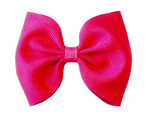 A25 - Girls Grosgrain Hair Bow (without knot) ~ Wholesale
