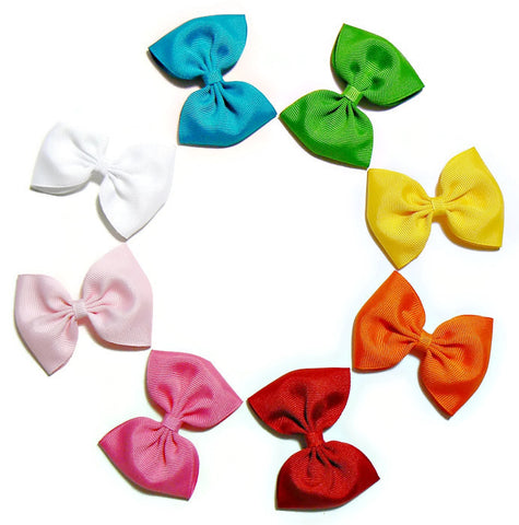 small hair bow set (10 bows)