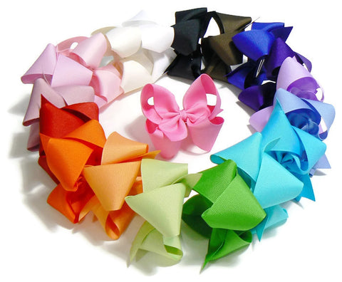 medium hair bow set (18 bows)