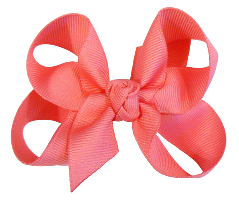 B3 - Girls Medium Hair Bow (with knot) ~ Wholesale