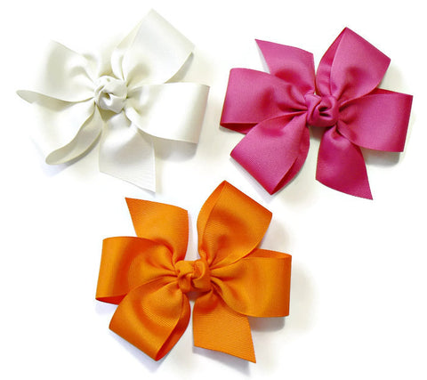 large hair bow set (3 bows)