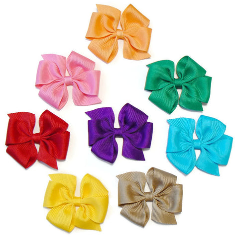 hair bow set (8 bows)