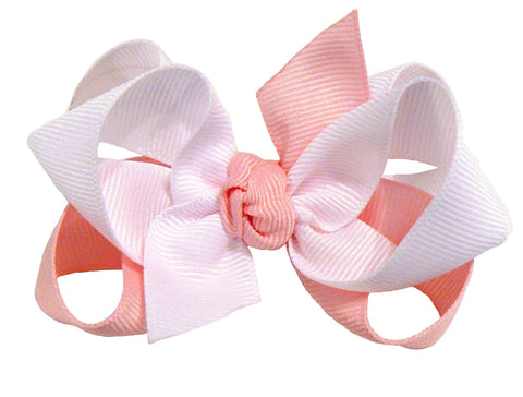 JB0-2 - Girls Combination Hair Bow (2-Colors) ~ Wholesale