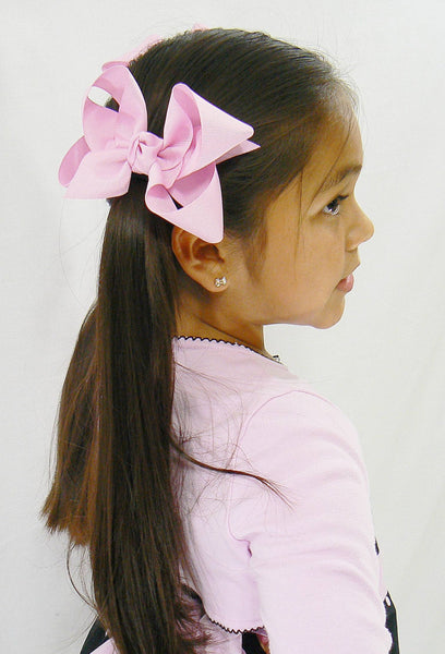 12 Large Hair Bows (with knots) - B4 - LARGE PASTELS ~ Wholesale
