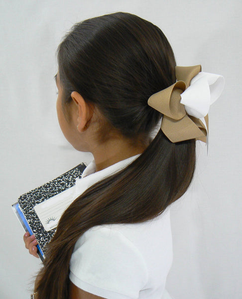 R2 - Girls Large School Hair Bow (2-Colors) ~ Wholesale