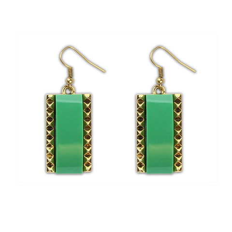 Club Korean Stylish Earrings Environmental Resin Earring Strong Character Sponge [4919984708]