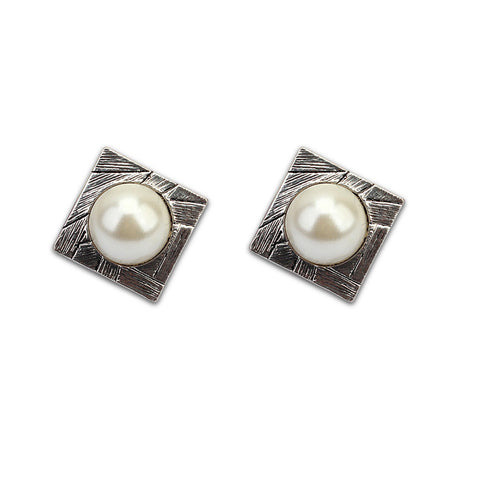 Green Environmental Korean Pearls Earring Earrings [4919225860]