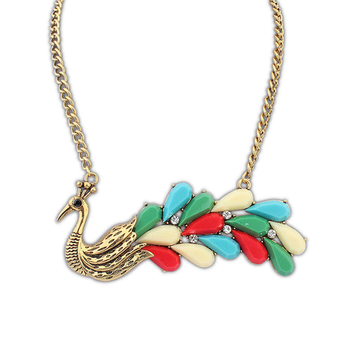 Shiny Gift New Arrival Jewelry Peacock Stylish Accessory Necklace [4918890308]