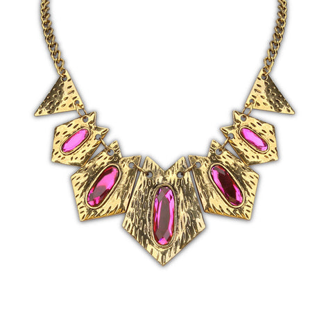 Gift Jewelry Stylish New Arrival Shiny Punk Geometric Accessory Necklace [4918843268]