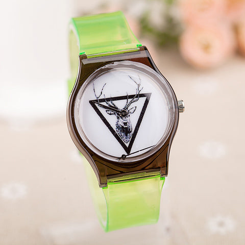 Awesome Designer's Great Deal Good Price Gift New Arrival Trendy Summer Korean Stylish Transparent Children Hot Sale Watch [4915362436]