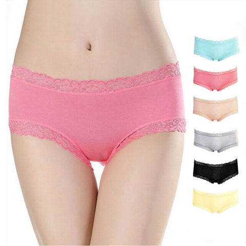 Lace Low Waist Underwear [6259205060]
