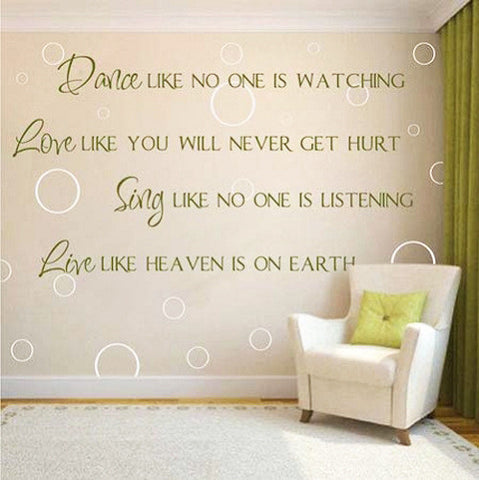 BUY ONE GET ONE FREE - Creative Decoration In House Wall Sticker. = 4798988100