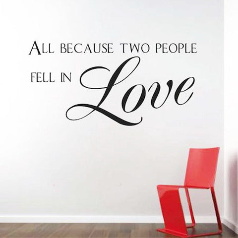 BUY ONE GET ONE FREE - Creative Decoration In House Wall Sticker. = 4798964356