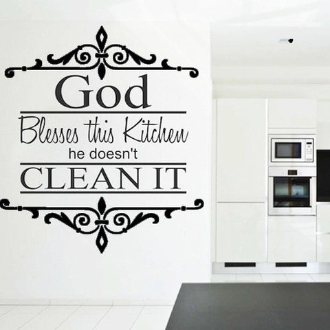 BUY ONE GET ONE FREE - Creative Decoration In House Wall Sticker. = 4798944004