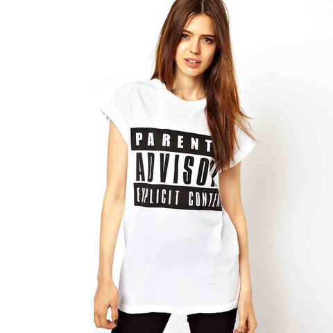 Alphabet Print Hot Sale T-shirts [4966068676]