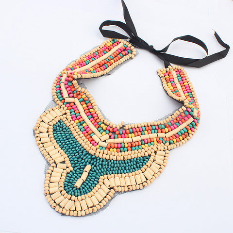 Gift Shiny Stylish Jewelry New Arrival Bohemia Handcrafts Sweater Chain Necklace [4918845060]
