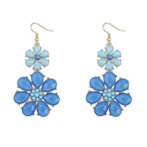 Pastoral Style Floral Earrings [4919099972]