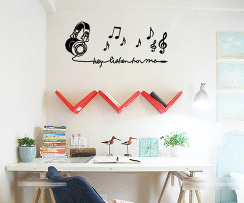 BUY ONE GET ONE FREE - Creative Decoration In House Wall Sticker. = 4798944772
