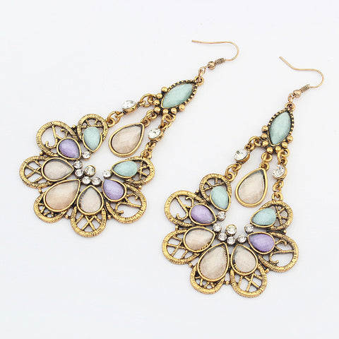 Peacock Earrings [4919100868]