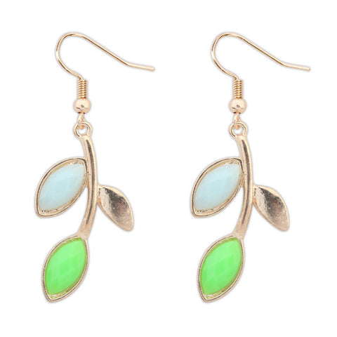 Bohemia Hot Sale Leaf Earrings [4919221380]