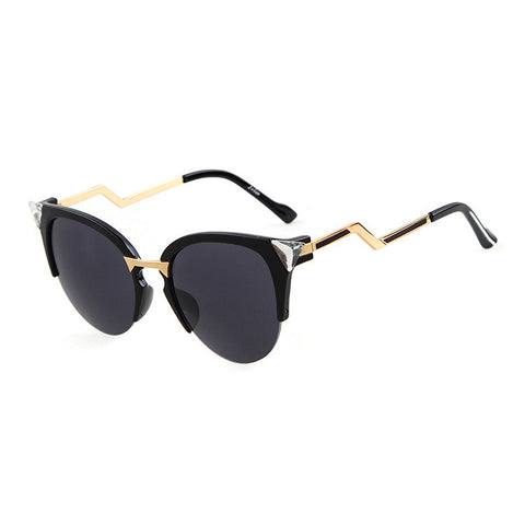 Cats Crystal Mirror Sunglasses [4915045828]
