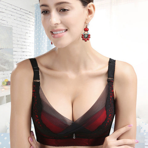 Cats With Steel Wire Adjustable Bra [4915566724]