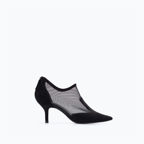 Lace Pointed Toe Shoes [4918351300]
