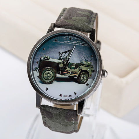 Good Price Designer's Great Deal New Arrival Gift Trendy Awesome Camouflage Stylish Ladies Watch [4915382980]