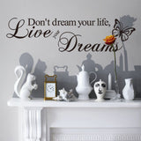 BUY ONE GET ONE FREE - Creative Decoration In House Wall Sticker. = 4798924228