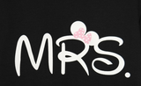 """MR"" & ""MRS"" Couple T-shirt Pullover= 4472756868"