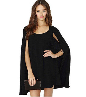 Baby Scarf Round-neck Chiffon Dress One Piece Dress [4915016324]