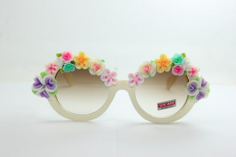 Sea Travel Summer Rose Handcrafts Diy Sunglasses Vintage Mirror [4915288900]
