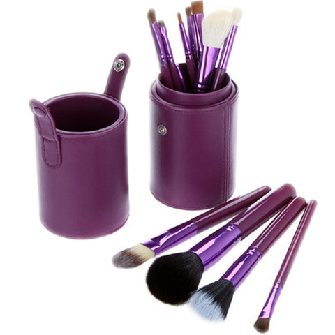 Hot Deal On Sale Hot Sale Make-up Beauty 12-pcs Luxury Tools Set Wool Make-up Brush [4918376132]