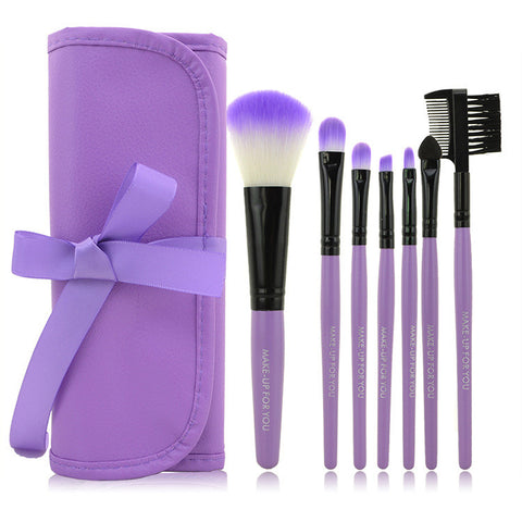 Make-up Beauty On Sale Hot Deal 7-pcs Luxury Brush Portable Hot Sale Make-up Brush [4918376004]