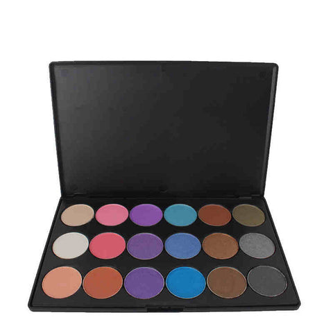 Beauty Hot Deal Professional Hot Sale Stylish On Sale Make-up 18-color Eye Shadow Matt Make-up Palette [4918364676]