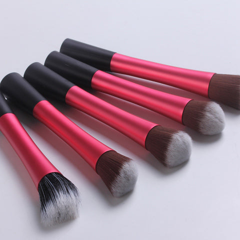 Hot Deal Beauty Make-up On Sale Hot Sale Professional Make-up Tools 5-pcs Set Make-up Brush [4918365444]