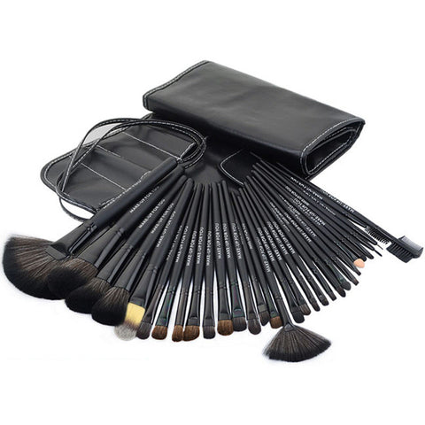 32-pcs Black Professional Make-up Brush Make-up Tools Beauty Make-up Brush Set [4918377220]