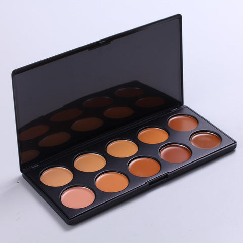 Hot Deal On Sale Beauty Fine-skin Make-up Blackhead Removal Hot Sale 10-color Foundation Conceal Concealer [4918365508]