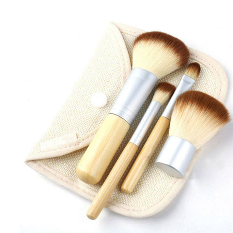 4-pcs Bags Hot Sale Make-up Brush Set [4918376708]