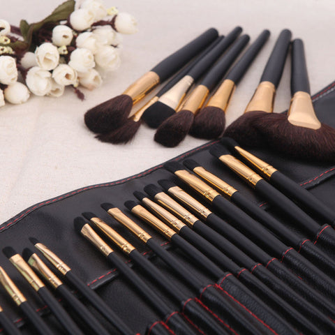 32-pcs Make-up Brush Wool Brush Tools Make-up Brush Set [4918366916]
