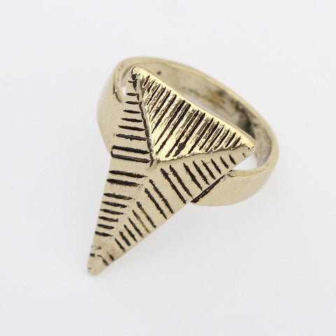 Gift Shiny New Arrival Stylish Jewelry Fashion Strong Character Metal Punk Accessory Ring [4918801156]