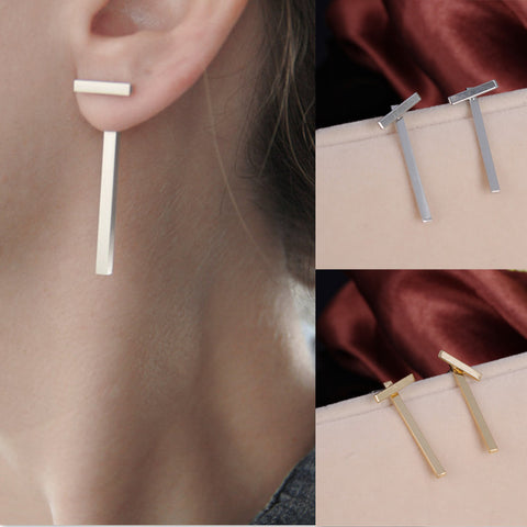 Accessory Simple Design Metal Earring Earrings [4918503428]