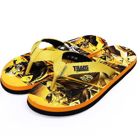 Fashion Anime Print Casual Anti-skid Couple Summer Slippers [4918325828]
