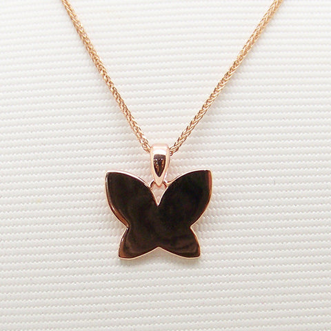 925 Silver Accessory Ladies Butterfly Korean Jewelry Pendant [4915367428]