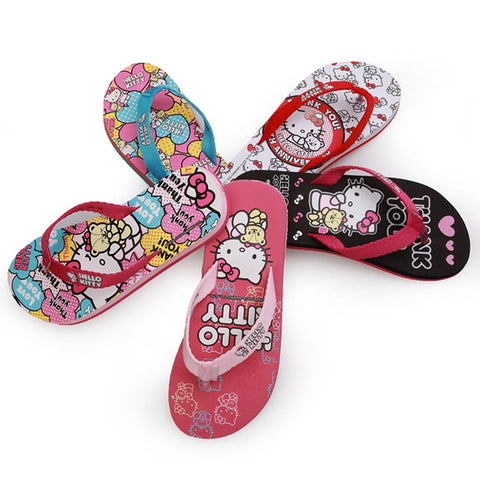 Cool Cartoons Ladies Anti-skid Outdoors Casual Beach Slippers [4918336772]