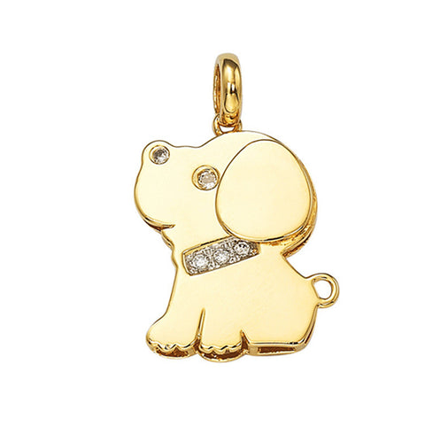 925 Silver Accessory Ladies Dogs Animal Style Korean Jewelry Pendant [4915381636]
