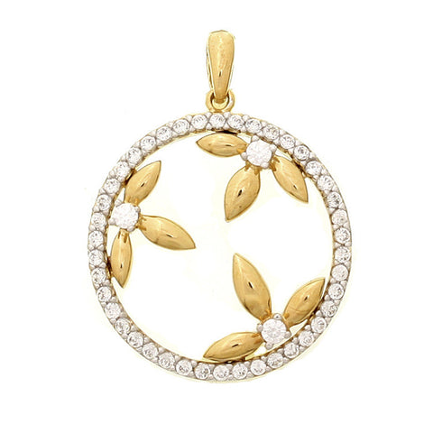 925 Silver Hollow Out Korean Jewelry Pendant [4915381444]